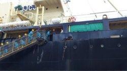 第26次南極海鯨類捕獲調査団の入港式_4