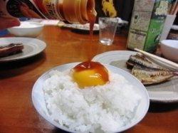 雲丹醤油たまごかけご飯