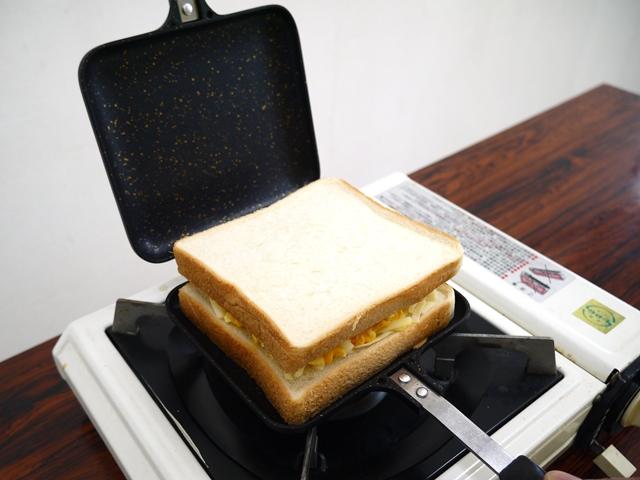 うにマヨたまご食パンかさね