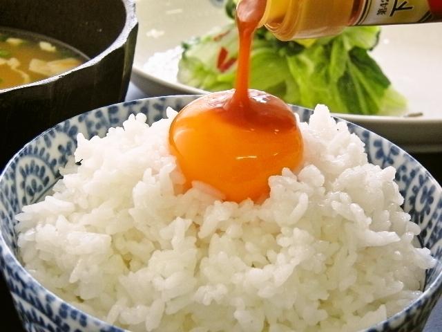 雲丹醤油卵かけごはん
